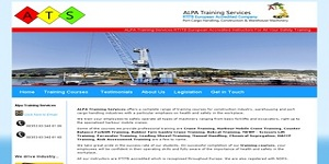 Web site for ALPA Training Services
